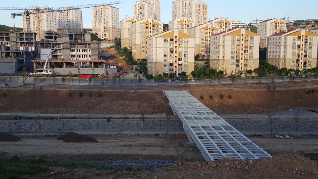 Başakşehir Toki Park Projesi Şekillenmeye Başladı