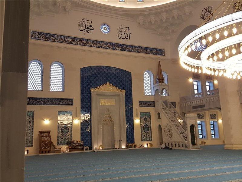 Başakşehir Merkez Cami İçi