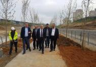 Toki Başkanı Kayapark Projesini inceledi