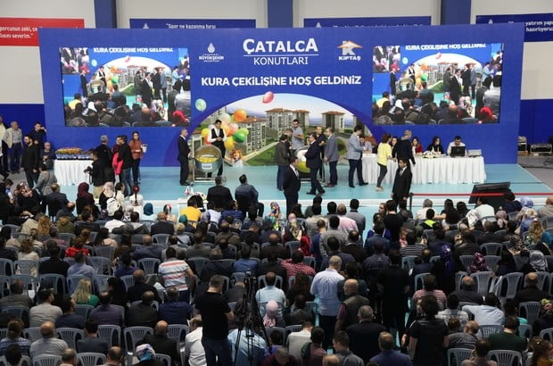 """KİPTAŞ """"Çatalca Konutları"""" hak sahipleri belirlendi"""