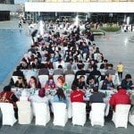 İbn Haldun Üniversitesi'nde 'aile iftarı' yapıldı