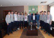 Başakşehir'in Yıldızları Başkanı Ziyaret Etti