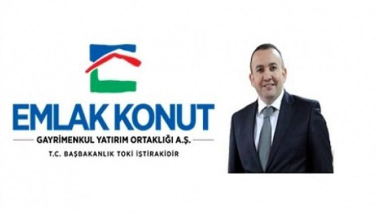 Emlak Konut'un yeni başkanı Ertan Keleş