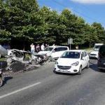 Başakşehir'de zincirleme kaza