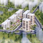 TOKİ Kayaşehir 862 konutluk yeni projenin görselleri