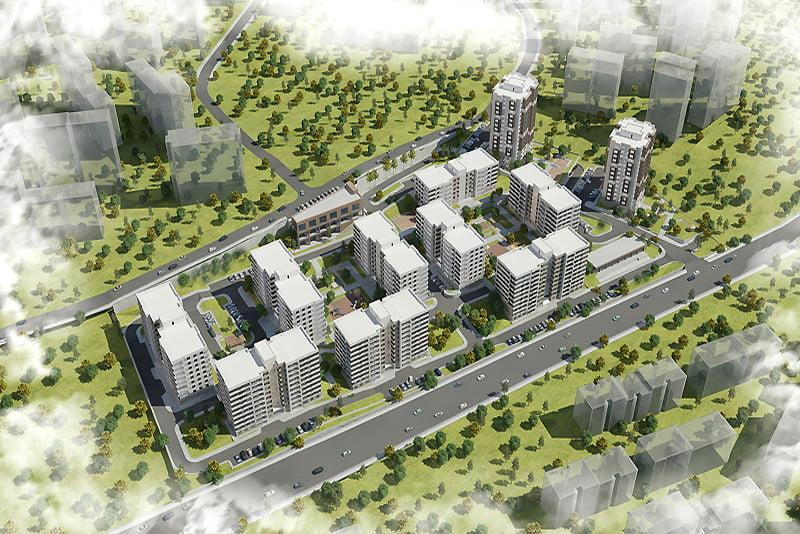 TOKİ Kayaşehir 862 konutluk yeni proje