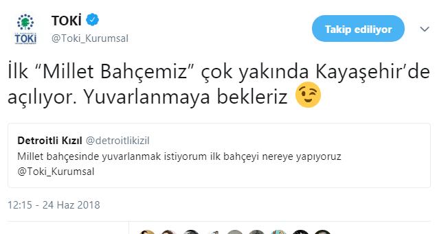 TOKİ : 'İlk Millet Bahçesi Kayaşehir Millet Bahçesi Olacak!'