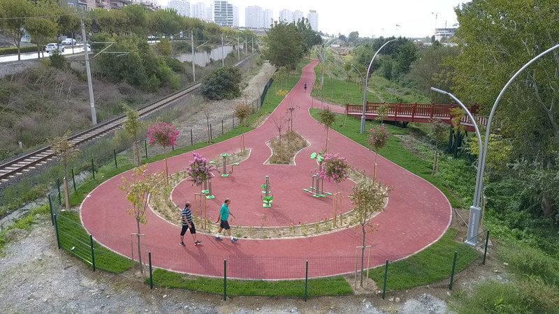 Bahçeşehir Gölet yürüyüş yolu Kasım'da açılıyor