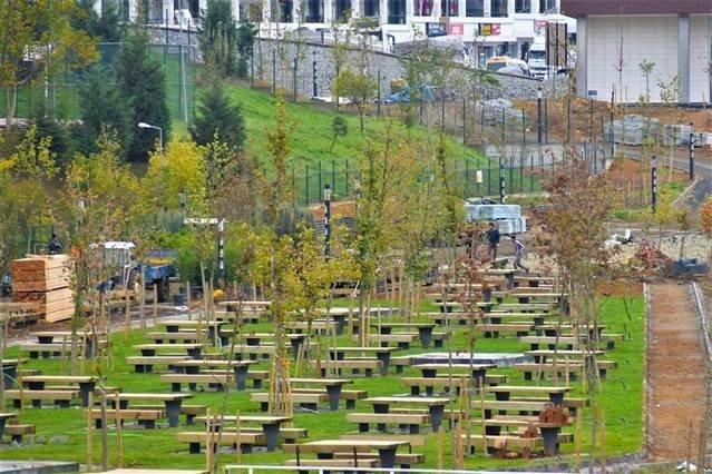 ilk millet bahçeleri Kayaşehir'de