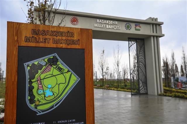 Türkiye'nin ilk millet bahçeleri Kayaşehir'de açıldı