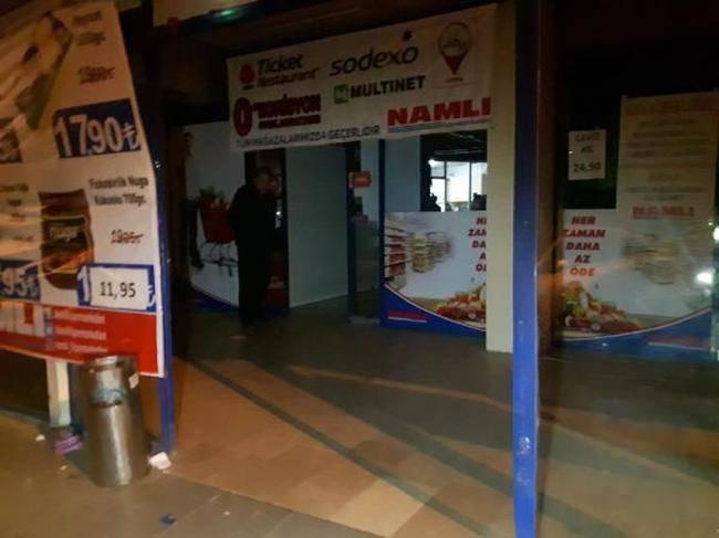 Başakşehir'de marketten hırsızlık