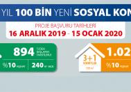 Toki 100 Bin Konut Projesinde Başakşehir'e 500 Konut