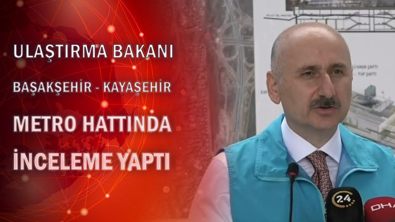 Başakşehir-Kayaşehir Metro Hattında Son Durum