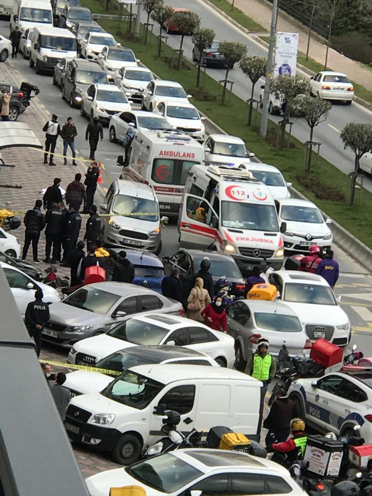 Bahçeşehir'de silahlı çatışma